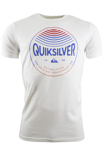 QuikSilver - 5842 Colours T-Shirt - White