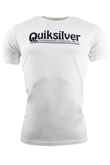 QuikSilver - 5854 Newslangs T-Shirt - White