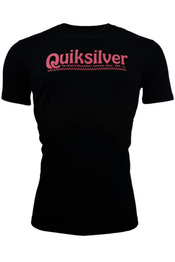 QuikSilver - 5854 Newslangs T-Shirt - Black