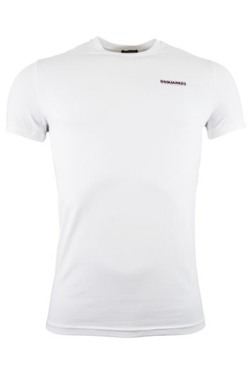 DSquared2 - Front Logo T-Shirt - white