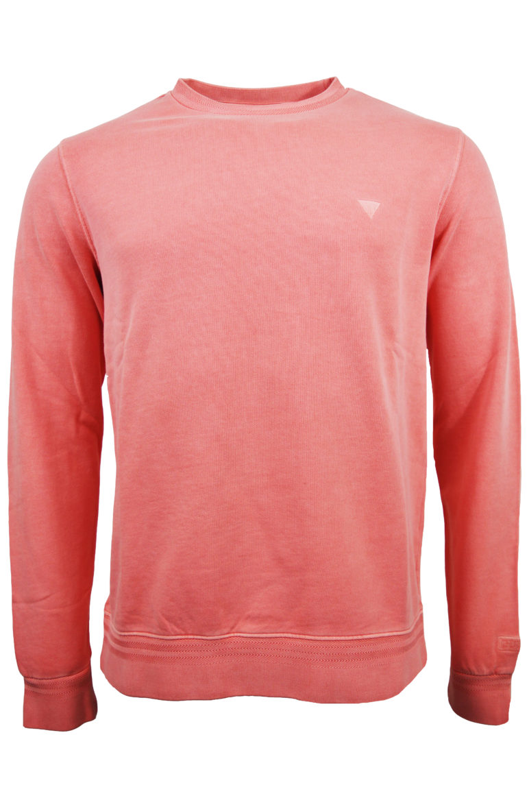 Guess - Able Sweatshirt - Salmon