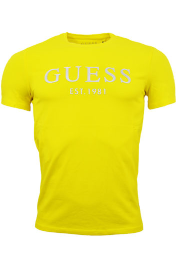 Guess - SS Logo T-Shirt - Yellow