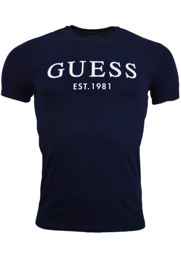 Guess - SS Logo T-Shirt - Navy
