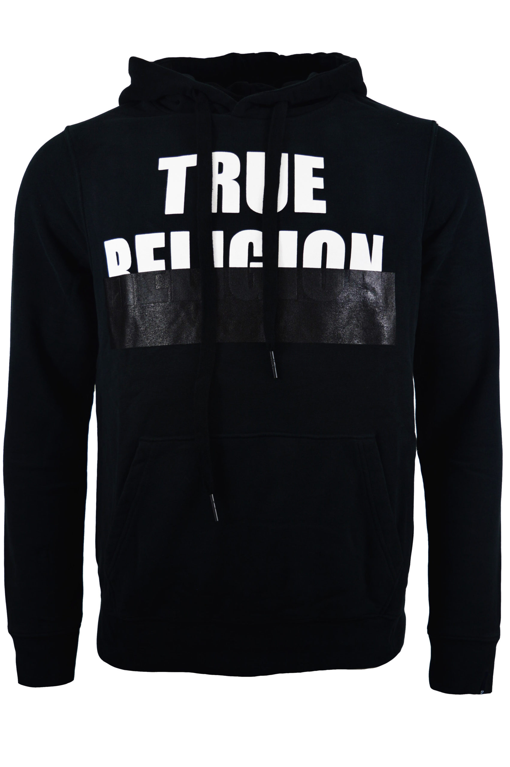 True Religion - Embossed Hood - Black