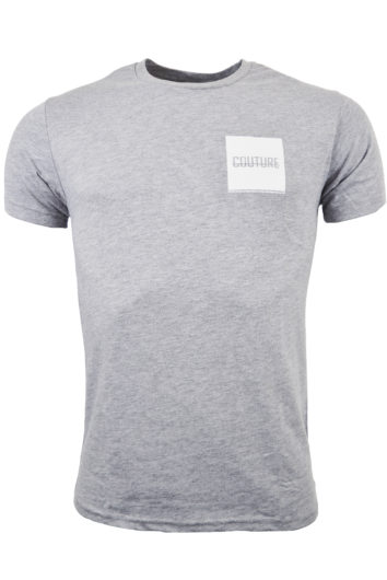 Fresh Couture - Back Block T-Shirt - Grey