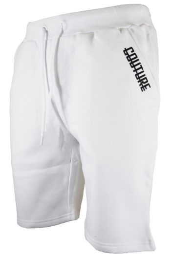 Fresh Couture - Side Strike Shorts - White