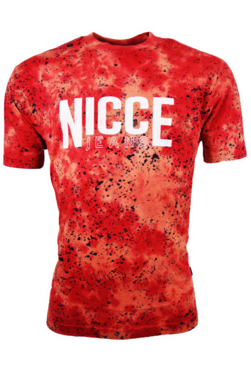 Nicce - Tie Dye Oversized T-Shirt - Berry