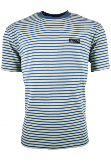 Nicce - Riva Stripe T-Shirt - Sea