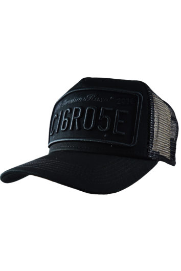Christian Rose - Outline Cap - Black/Black