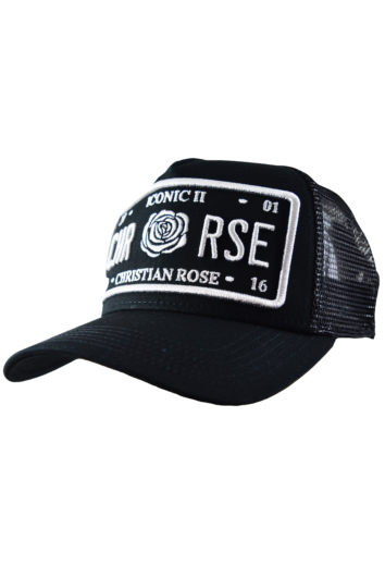 Christian Rose - Outline Cap - Black/Silver