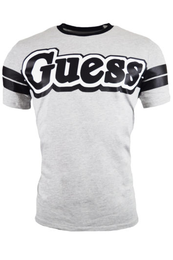 Guess - Bars T-Shirt - Grey