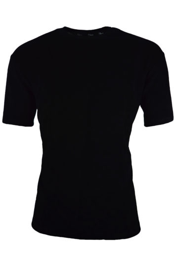 Nimes - Towelling T-Shirt - Black