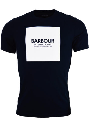 Barbour - Block Tee - Navy