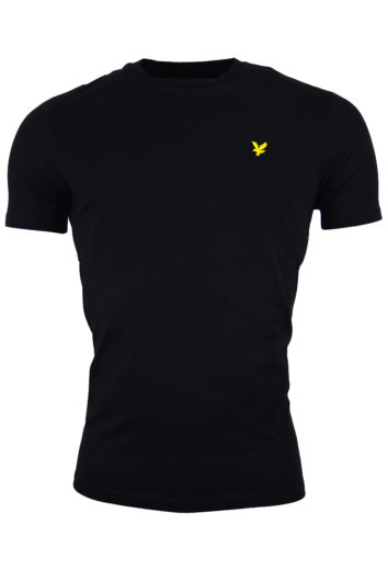 Lyle & Scott - Crew T-Shirt L&S - Black
