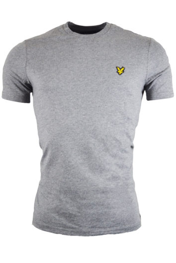 Lyle & Scott - Crew T-Shirt L&S - Grey