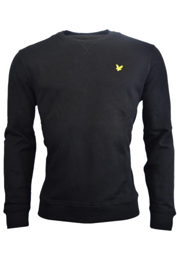 Lyle & Scott - Crew Neck Sweatshirt - Black