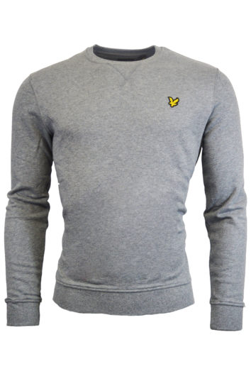 Lyle & Scott - Crew Neck Sweatshirt - Grey