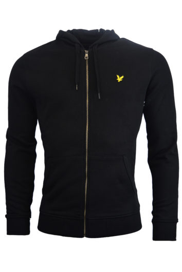 Lyle & Scott - Zip Through Hoodie - Black