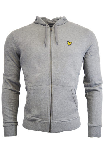 Lyle & Scott - Zip Through Hoodie - Grey