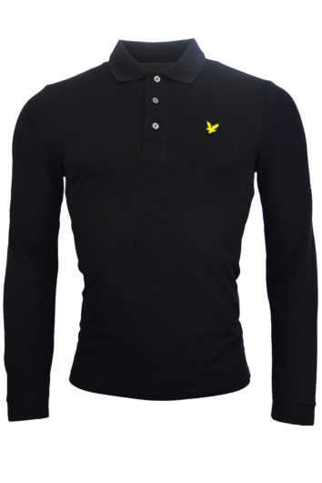 Lyle & Scott - LP400VB LS Polo Shirt - Black