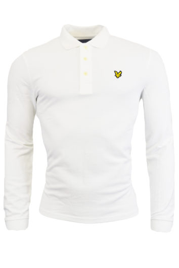 Lyle & Scott - LP400VB LS Polo Shirt - White