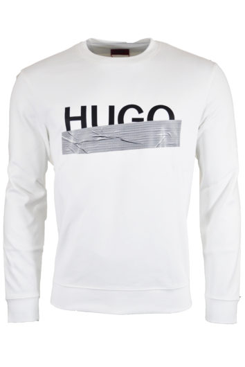 Hugo Boss - Dicago Tape Sweatshirt - White