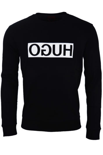 Hugo Boss - Reverse Hugo Sweatshirt - Black