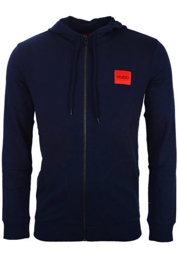 Hugo Boss - Daple 204 Zip Hoodie - Navy