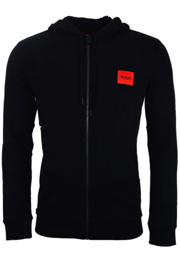 Hugo Boss - Daple 204 Zip Hoodie - Black