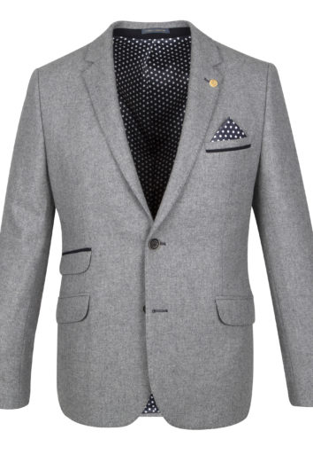 Guide London - JK3426 Blazer - Grey