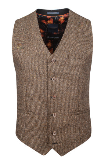 Guide London - WC3435 Waistcoat - Tan