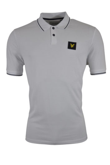 Lyle & Scott - Tipped Polo 1321 - White