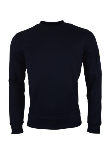 Lyle & Scott - Pocket Sweatshirt - Navy