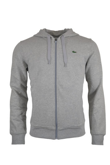 Lacoste - Zipped Hoodie 551 - Grey