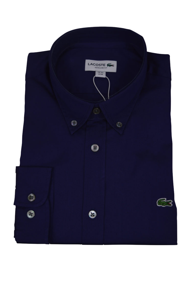 Lacoste - Lacoste LS Shirt - Navy