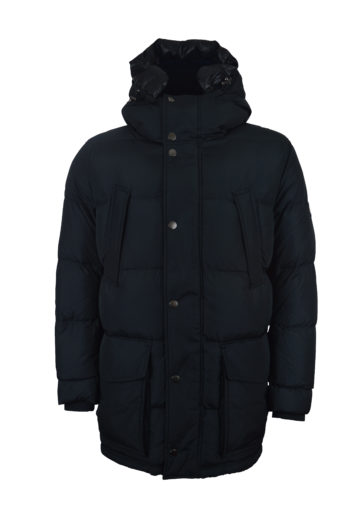 Tommy Hilfiger - Hooded Parka 484 - Black