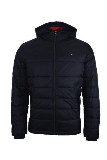 Tommy Hilfiger - Two Toned Hooded Jacket - Navy