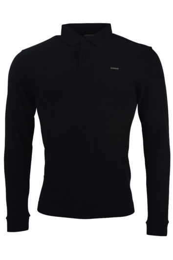 Napapijri - Ebir LS Polo Shirt - Black