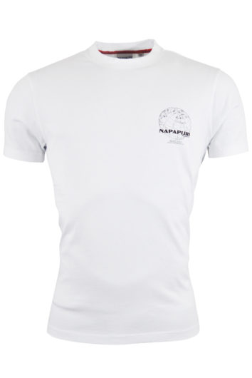 Napapijri - Oodi Graphic T-Shirt - White