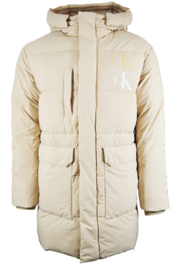 Calvin Klein - CK Eco Parka Jacket - Cream