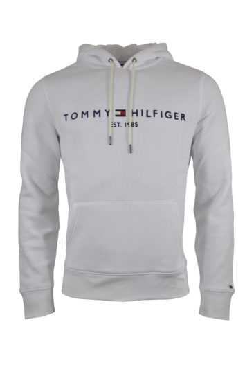 Tommy Hilfiger - Core Tommy Logo Hoodie - White