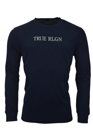 True Religion - LS Crew T-Shirt - Nightshadow