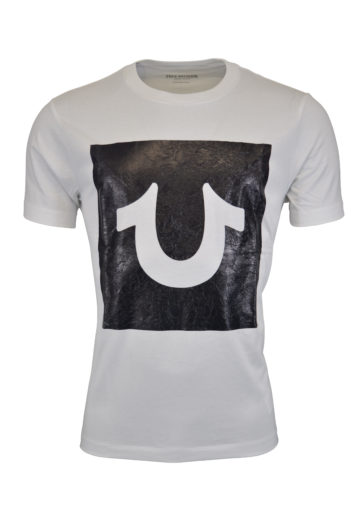 True Religion - Foil Box T-Shirt - White
