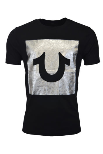 True Religion - Foil Box T-Shirt - Onyx