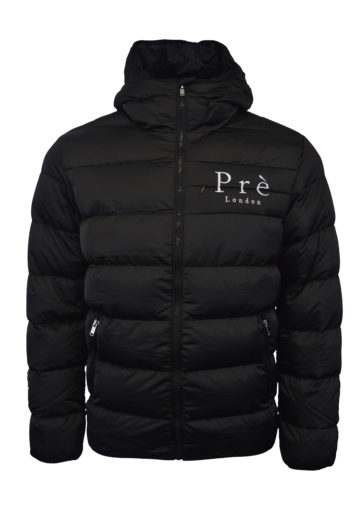 Pre London - Alsace Puffa Jacket - Black