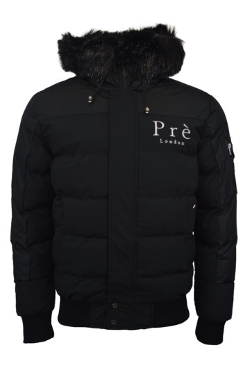 Pre London - Kylo Fur Bomber - Black