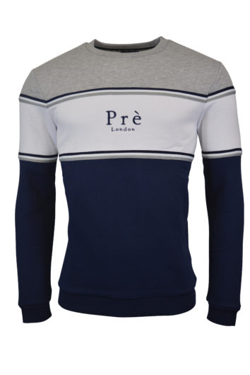 Pré London - College Sweatshirt - Grey