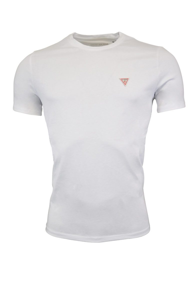 Guess - SS Tee - White
