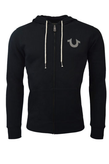 True Religion - Core Hood - Black