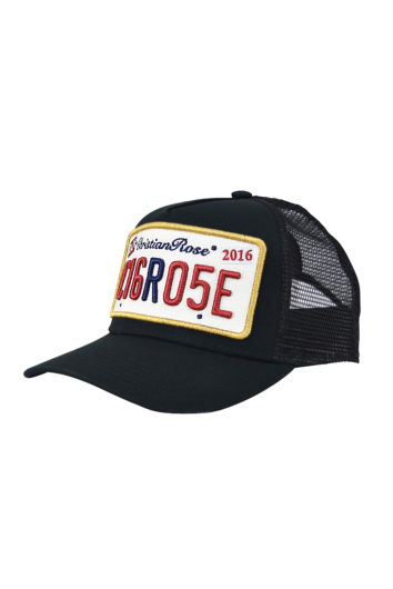 Christian Rose - Private Plate Cap - Black & Gold